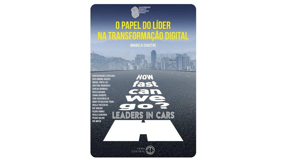capa do livro o papel do líder na transformação figital